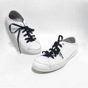Camper. Ltd edition Leather perforated low tops.